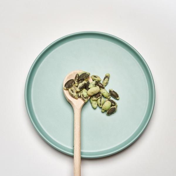 Kürbiskerne | Wasabi | Glutenfrei | Handgefertigt | Vegan | 100g