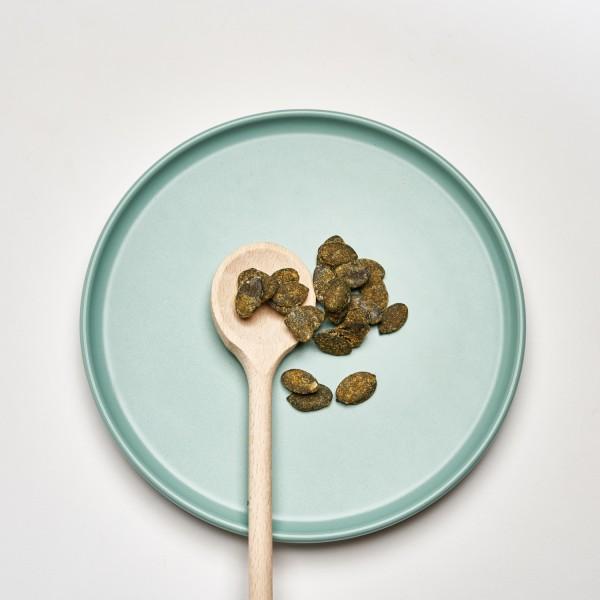 Kürbiskerne | Orange | Glutenfrei | Handgefertigt | Vegan | 100g