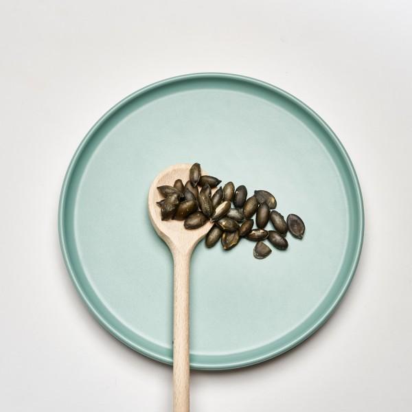 Kürbiskerne   Geröstet & Gesalzen   Manufaktur   Vegan   100g